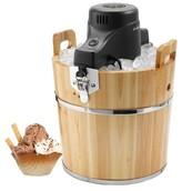 Sunbeam ; 4 Qt. Wooden Bucket Ice Cream Maker - FRSBWDBK