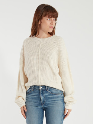 Sanctuary Sorry Not Sorry Waffle Knit Sweater