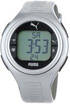 Puma Men's Active PU910541009 Silver Polyurethane Quartz Watch with Dial