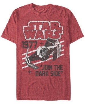Thumbnail for your product : Star Wars Men's Classic Join The Dark Side Quote Short Sleeve T-Shirt