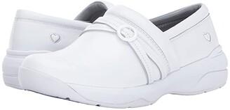 Nurse Mates Ceri (White) Women's Slip on Shoes