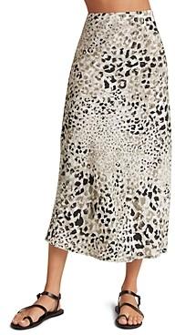 Bella Dahl Printed Midi Skirt