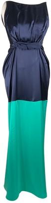 Roksanda Ilincic Navy Silk Dresses