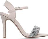 Miss KG Cherry suede heels