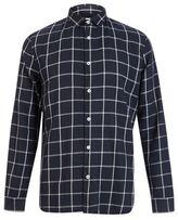 Burton Mens Nowadays Navy Grid Checked Shirt*