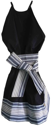 Galliano Blue Silk Top for Women