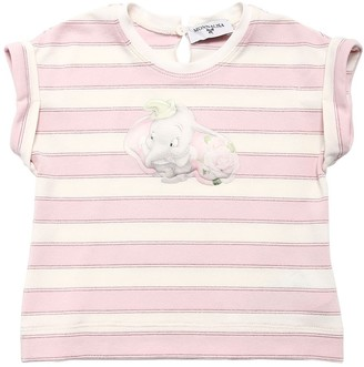 MonnaLisa Dumbo Striped Viscose Blend T-Shirt