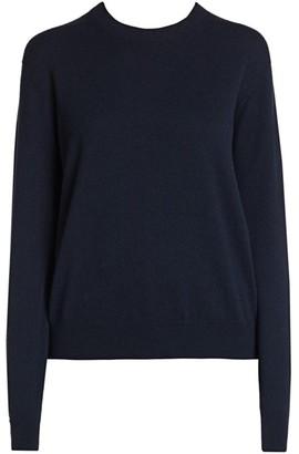 Giorgio Armani Cashmere Alashan Crewneck Knit Sweater