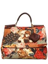 Dolce & Gabbana Soft Sicily Brocade Top Handle