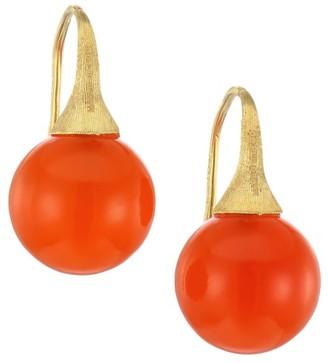 Marco Bicego Africa 18K Yellow Gold & Carnelian Drop Earrings