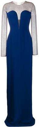Stella McCartney Beaded Panel Evening Dress