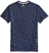 G Star Men's Alphabet Graphic-Print T-Shirt