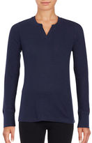 Nautica Split-Neck Thermal Top