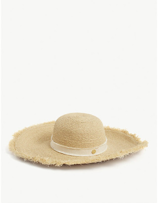 Heidi Klein Cape Elizabeth frayed raffia hat