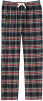 Joe Fresh Men's All Over Print Sleep Pant, Carmine Red (Size L)