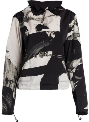 Off-White Printed Pullover Jacket