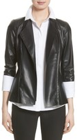 Lafayette 148 New York Women's Austin Perforated Nappa Leather Jacket