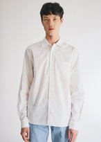 Need NEED Men's Rich Button Up Shirt in White, Size Small | 100% Cotton