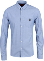 Hugo Enthon Denim Blue Long Sleeve Shirt