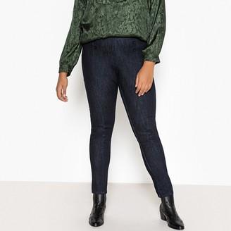 """Castaluna Plus Size High Waist Slim Fit Jeans, Length 30.5"""""""