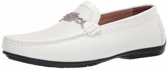 Stacy Adams Men's Cygnet Moc Toe Bit Slip-On Loafer Driving Style