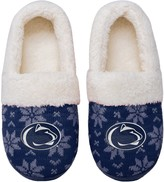 Unbranded Women's Penn State Nittany Lions Ugly Knit Moccasin Slippers