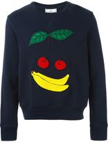 Ami Alexandre Mattiussi fruit patch sweatshirt