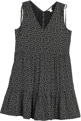 Caslon Ruffle Hem V-Neck Sun Dress
