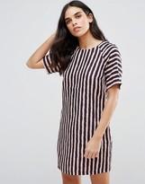 Girls On Film Textured Tunic Dress