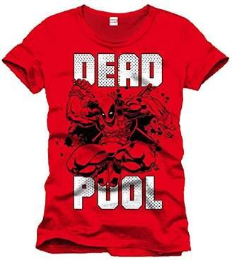 Marvel Men's Deadpool Jump T-Shirt