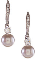 Nadri Pearl Drop Earrings