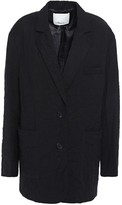 3.1 Phillip Lim Crinkled-broadcloth Blazer