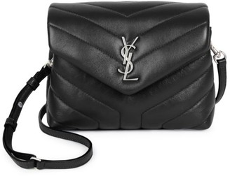 Saint Laurent Toy Loulou Matelasse Leather Crossbody Bag