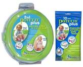 Kalencom Potette Plus Travel Potty includes EXTRA Liners, Green