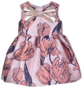 Hucklebones London Tulip Dress and Bloomers Set (3-18 Months)
