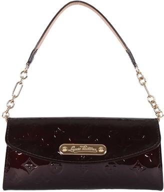 Louis Vuitton Sunset Boulevard Burgundy Patent leather Clutch bags