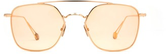 AHLEM Place Colette Peony Gold Shiny Sunglasses