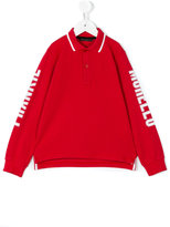 Frankie Morello Kids - polo sweatshirt - kids - Cotton - 2 yrs