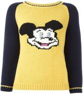 Dondup Mickey intarsia jumper