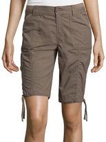 ST. JOHN'S BAY St. John's Bay Secretly Slender Cargo Bermuda Shorts
