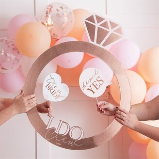 Ginger Ray Blush Hen Party Foil Ring Photo Booth Frame