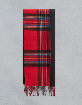 Belstaff Signature Check Double Face Cashmere Scarf