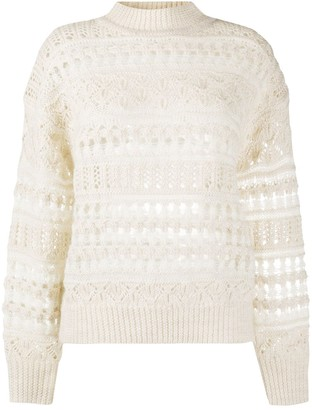 Etoile Isabel Marant Pernille open knit jumper