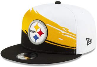New Era Pittsburgh Steelers Vintage Paintbrush 9FIFTY Cap