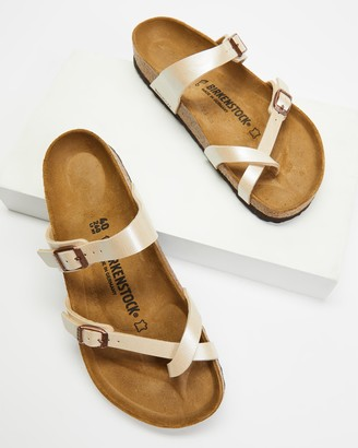 Birkenstock Women's Nude Flat Sandals - Mayari Graceful - Women's - Size 36 at The Iconic