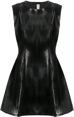 Marni Coated Finish Sleeveless Top