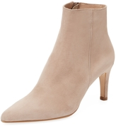 Ava & Aiden Women's Leather Pointed-Toe Bootie