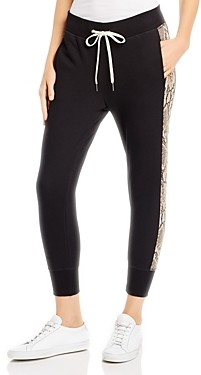 n:philanthropy Barkley Snake-Stripe Jogger Pants