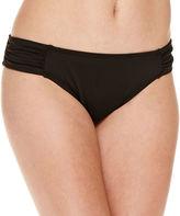 Liz Claiborne Solid Hipster Swimsuit Bottom