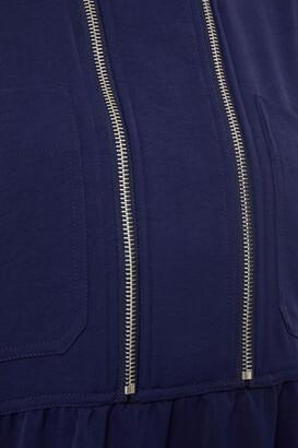 BA&SH Zip-detailed Cady Mini Dress